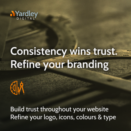 Sharpen up your logo and brand assets